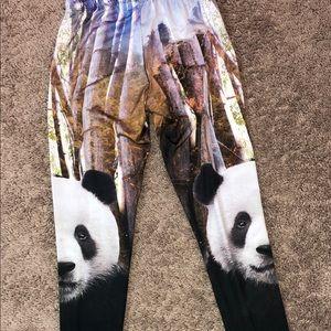 Pants - Panda 🐼 Bear Leggings SUPER Soft. Size Small🐼🐼